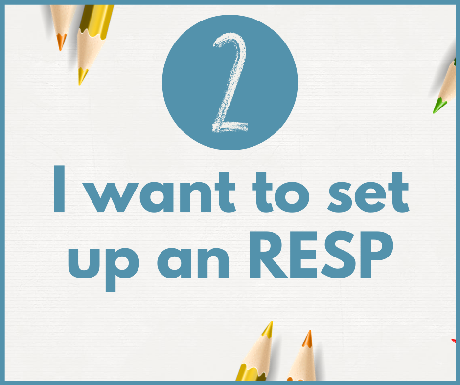 I want to set up an RESP